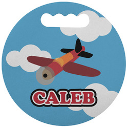 Airplane Stadium Cushion (Round) (Personalized)