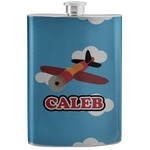 Airplane Stainless Steel Flask (Personalized)