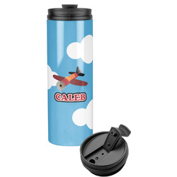 Airplane Stainless Steel Travel Tumbler (Personalized)
