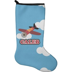 Airplane Christmas Stocking - Neoprene (Personalized)