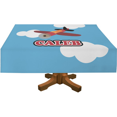 Airplane Rectangle Tablecloth (Personalized)