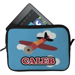 Airplane Tablet Case / Sleeve (Personalized)