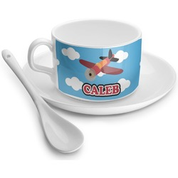 Airplane Tea Cup - Single (Personalized)