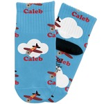 Airplane Toddler Ankle Socks (Personalized)