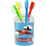 Airplane Toothbrush Holder (Personalized)