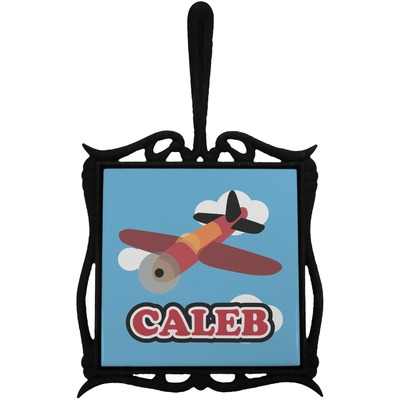 Airplane Trivet with Handle (Personalized)