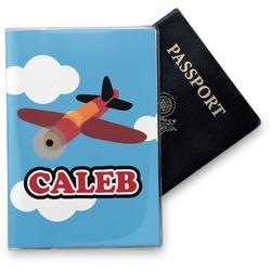 Airplane Vinyl Passport Holder (Personalized)