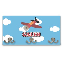 Airplane Wall Mounted Coat Rack (Personalized)