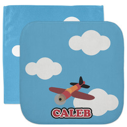 Airplane Facecloth / Wash Cloth (Personalized)