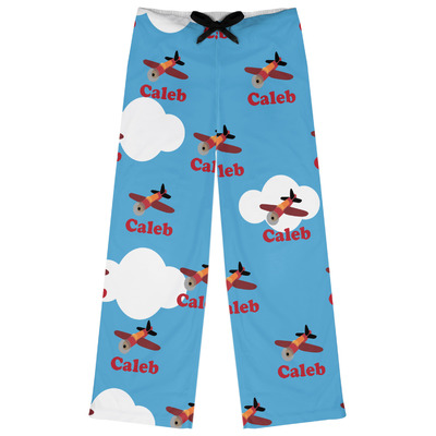 Airplane Womens Pajama Pants (Personalized)