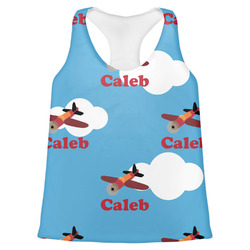Airplane Womens Racerback Tank Top (Personalized)
