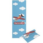 Airplane Yoga Mat - Printable Front and Back (Personalized)