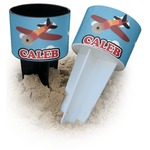 Airplane Beach Spiker Drink Holder (Personalized)