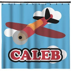 Airplane Shower Curtain (Personalized)