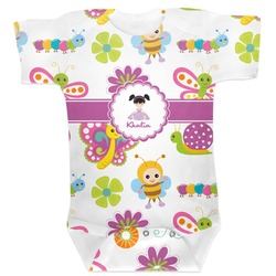 Butterflies Baby Bodysuit (Personalized)