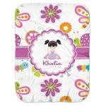 Butterflies Baby Swaddling Blanket (Personalized)