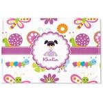 Butterflies Woven Mat (Personalized)
