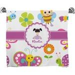 Butterflies Full Print Bath Towel (Personalized)