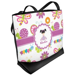Butterflies Beach Tote Bag (Personalized)