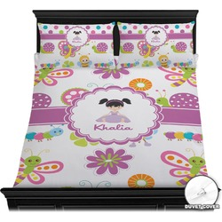 Butterflies Duvet Cover Set (Personalized)