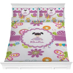 Butterflies Comforter Set (Personalized)