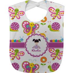 Butterflies Baby Bib (Personalized)