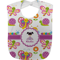 Butterflies Baby Bib (Personalized)
