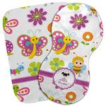 Butterflies Burp Cloth (Personalized)