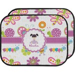 Butterflies Car Floor Mats (Back Seat) (Personalized)