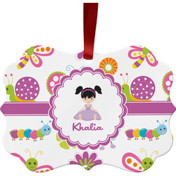Butterflies Ornament (Personalized)