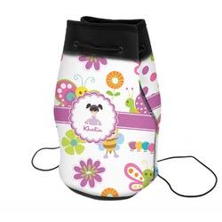 Butterflies Neoprene Drawstring Backpack (Personalized)