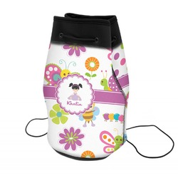 Butterflies Neoprene Drawstring Backpack (Personalized)
