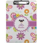 Butterflies Clipboard (Personalized)