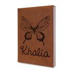 Butterflies Leatherette Journal (Personalized)