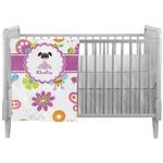 Butterflies Crib Comforter / Quilt (Personalized)