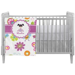 Butterflies Crib Comforter / Quilt (Personalized)