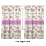 "Butterflies Curtains - 20""x63"" Panels - Lined (2 Panels Per Set) (Personalized)"