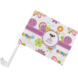 Butterflies Car Flag (Personalized)