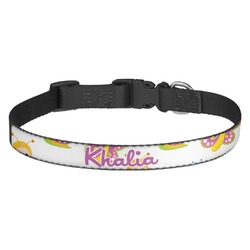 Butterflies Dog Collar (Personalized)