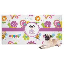 Butterflies Pet Towel (Personalized)