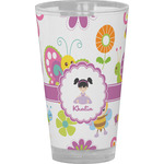 Butterflies Drinking / Pint Glass (Personalized)