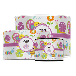 Butterflies Drum Lamp Shade (Personalized)