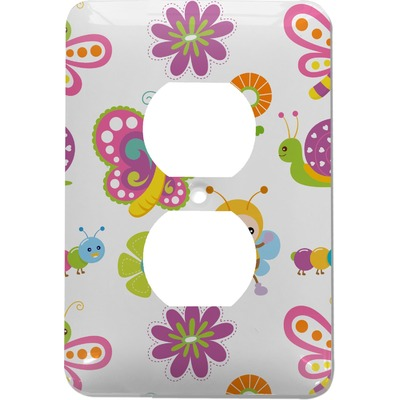 Butterflies Electric Outlet Plate (Personalized)