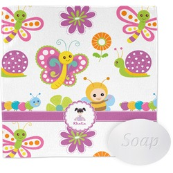 Butterflies Wash Cloth (Personalized)