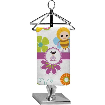 Butterflies Finger Tip Towel - Full Print (Personalized)