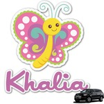Butterflies Graphic Car Decal (Personalized)
