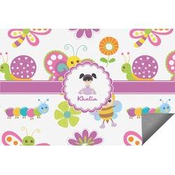 Butterflies Indoor / Outdoor Rug (Personalized)