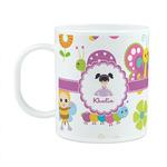 Butterflies Plastic Kids Mug (Personalized)
