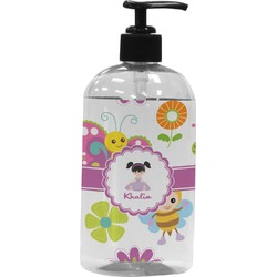 Butterflies Plastic Soap / Lotion Dispenser (Personalized)