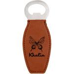 Butterflies Leatherette Bottle Opener (Personalized)